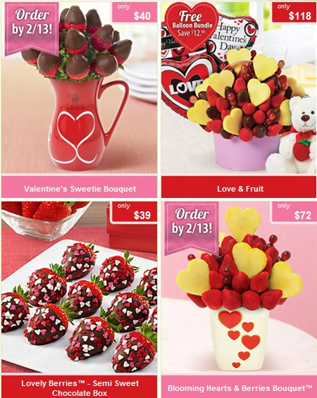 Edible arrangements are still taking orders today for delivery
